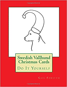 Book Swedish Vallhund Christmas Cards: Do It Yourself
