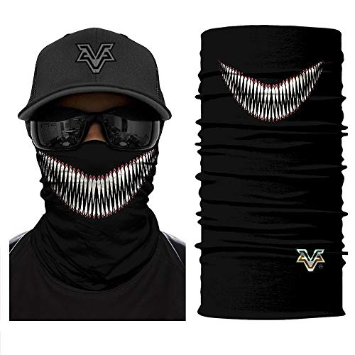 Bandana Headscarf 3D Devil Venom Smile Face Spider Masks Scarfs Movie Scarf Mask Tube Neck Full Lower Half Shield Sun Hiking Paintball Headwear No.220 -