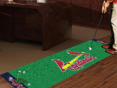 - Fanmats St Louis Cardinals Putting Green Runner