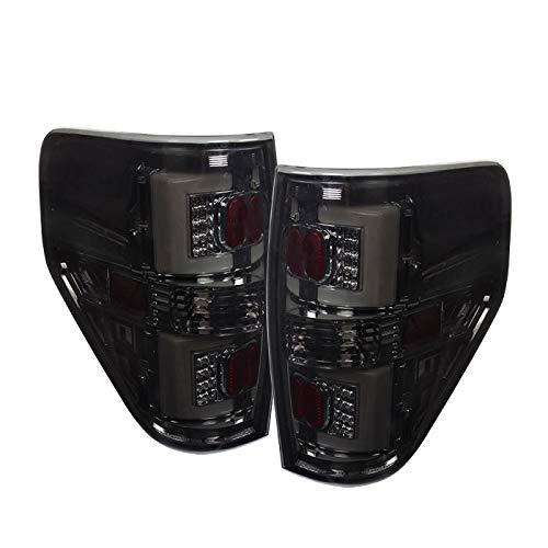 Fitment: 2009-2014 Ford F150 (Styleside Models Only) Tube Led Streak Tail Lights Smoked Lens/Chrome Housing