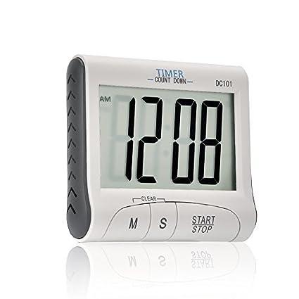 Senbowe™ Digital Kitchen Timer/Cooking Timer With Large Display Screen,  Loud Sounding Alarm