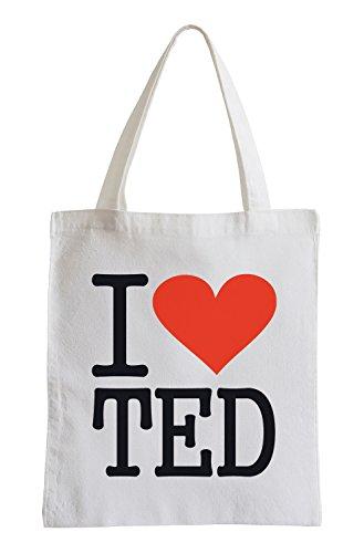 Amo TED Fun sacchetto di iuta Nueva Línea Barata Tienda Del Espacio De Salida Asequible Mejor Lugar Pago Con Visa De Salida XUNlf