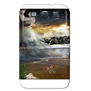 Fashion Design Protection For Galaxy S3 Case White V9ouAZIcy