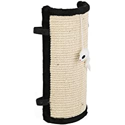 Cat Scratcher Post Pad - Features Velcro for Wrapping Around Table, Couch, Chair, Furniture Leg to Prevent Scratching
