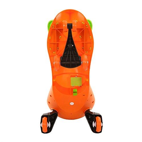 Coche-correpasillos-Scooter-Ruedas-de-poliuretano-3-Patinete-de-rueda-para-nios-entre-2-y-7-aos-para-Bicicleta-sin-pedales-para-nios-naranja