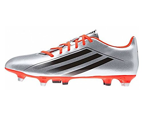 adidas RS7 4.0 TRX SG Men's Rugby Boots, Silver/Black/Red, US10.5