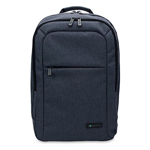 CaseCrown Campus Backpack for Microsoft Surface Book (Denim/Navy Blue) w/Padded Laptop Compartment