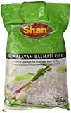 Shan Premium Quality Kernel Basmati Rice 10 Lbs Bag - Extra Long Aged Aromatic - NET WT 10 lbs (Packaging may Vary)