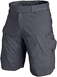 Flovey 2021 Upgraded Waterproof Tactical Shorts for Men-Quick Dry Breathable Army Fan Cargo Shorts