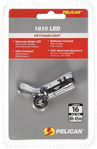 Pelican 1810 Keychain Flashlight (Black)