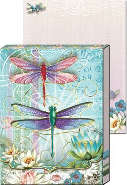Window Pocket Note Pads-Dragonflies 59660 ()