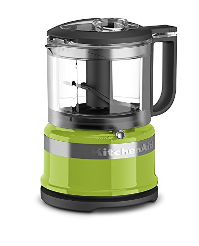 KitchenAid KFC3516GA 3.5 Cup Mini Food Processor, Green Apple (Foods Green)