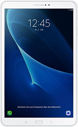 Samsung Galaxy Tab A (2016) T585N 25,54 cm (10,1 Zoll) LTE Tablet-PC (Octa-Core, 2GB RAM, 16GB eMMC, Android 6.0, neue Version) weiß