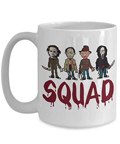 Squad Coffee Mug - Squad Michael Myers Jason