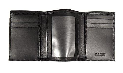 290249AT Black Alligator TARDINI Wallet Men's Matte TARDINI Men's ID Trifold HPqpnxf