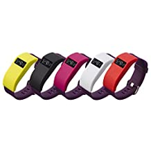 Dingtool Silicone Replacement Cover Sleeves Cover Cases Band Cover for Fitbit Charge/Fitbit Charge HR Protector(No Tracker & No Band)