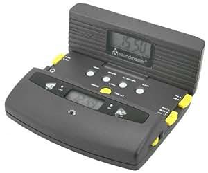Soundmaster TCR-300 - Radio (Clock, Digital, AM, FM, LCD, 125 mm, 95 mm) Gris