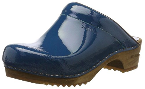 outlet for nice Sanita Women's Classic Patent Open Clogs Blue (Denim) discount cheap online clearance sneakernews iaz22W