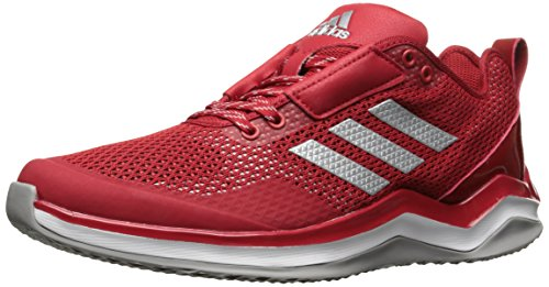 adidas Performance Men's Speed Trainer 3.0, Power Red/Metallic Silver/White, 10.5 M US