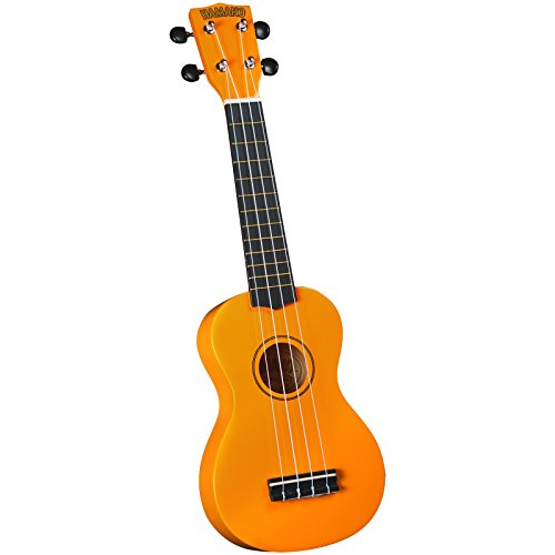 Hamano U-30YW Colorful Soprano Ukulele - Yellow from Hamano