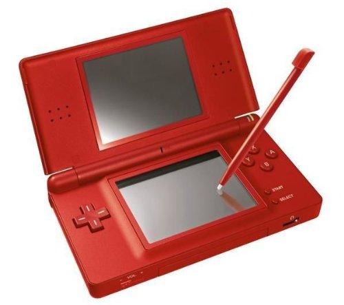Deep Red Nintendo DS Lite