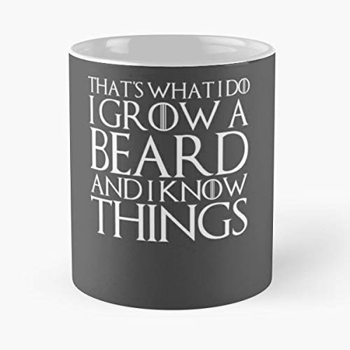 Youth Corporate Hoody - Thats What I Do Grow A Beard And Know Things Day Youth Present - Funny Gifts For Men And Women Gift Coffee Mug Tea Cup White 11 Oz.the Best Holidays.