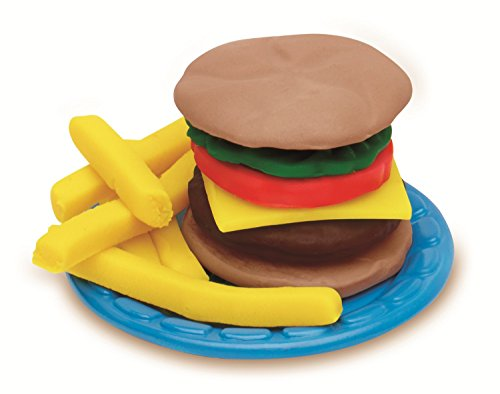 Play-Doh B5521 Burger Barbecue Toy, Brown/A