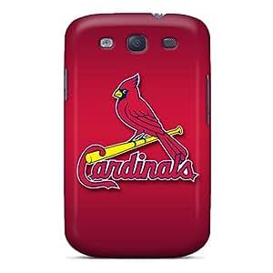 Perfect Hard Phone Case For Samsung Galaxy S3 (STl5067ZwaJ) Allow Personal Design Beautiful St. Louis Cardinals Series