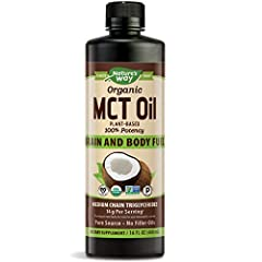 100% MCTs. 14g MCTs per serving. Certified Organic. Non-GMO Project Verified. Colorless, odorless and flavorless. See Supplement Facts for total fat and saturated fat content. Wide-ranging Benefits of MCTs. Brain and body fuel.* Quickly diges...
