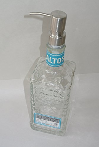 Landfilldzine Altos Tequila Soap Liquor Bottle Repurposed Soap Or Lotion Dispenser 750ml