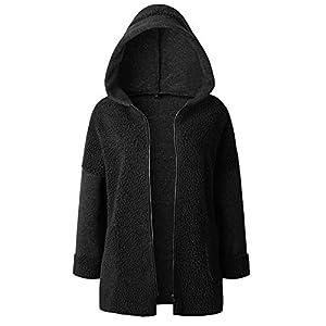 AOJIAN Women Jacket Long Sleeve Outwear Zipper Pocket Patchwork Solid Pullover Coat