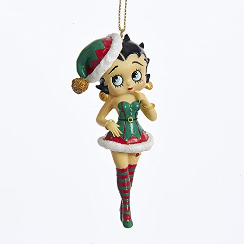 Kurt Adler Betty BOOP Betty in ELF Outfit Ornament