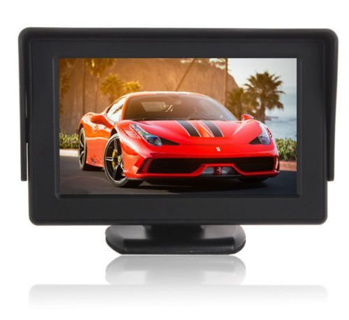 Car Rear View Backup Monitor,Esky 4.3 Inch TFT LCD Color Display Car Rear View 180 Degree Adjustable Monitor Screen for Rearview Vehicle Backup Parking Cameras[The Wirecutter's Pick] by Esky (Image #3)