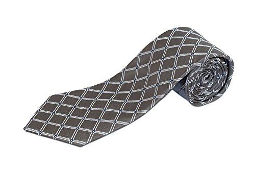 Gray Silk Extra Long Ties - 5