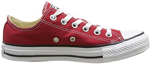 Converse Chuck Taylor All Star Ox, Unisex-erwachsene Sneaker Rød