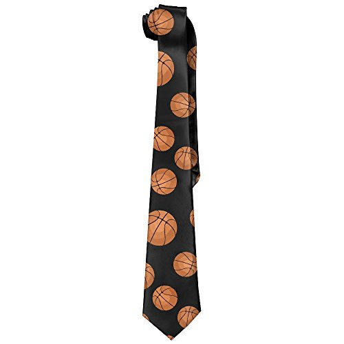 Nba Tie Basketball (Shadidi Mens Basketball Soccer Nba Fashion Tie Necktie)