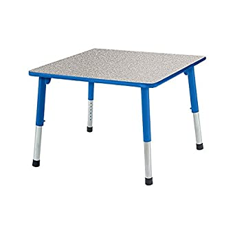 Classroom Select DAAASQR36GNTRB1 STK1 Apollo T Mold Square Activity Table  Leg 15 To 24