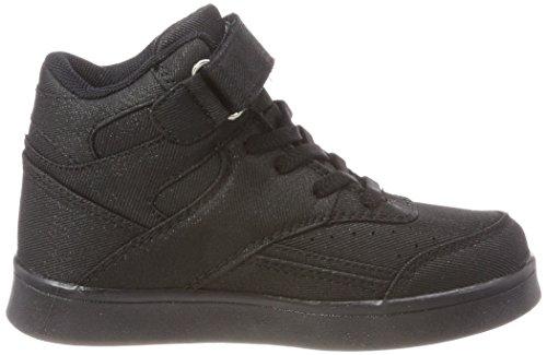 L.A. Gear Flo Lights, Zapatillas de Baloncesto Unisex Niños Schwarz (Black)