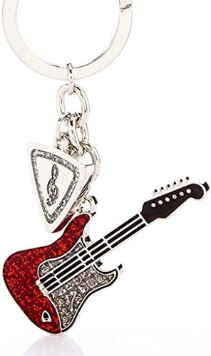CQ ギターキーホルダーペンダントカップルキーホルダー女性車キーペンダント男性キーチェーン創造性