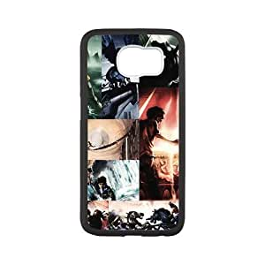 Zyhome Galaxy S6 Cool Percy Jackson Checked Pattern Case Cover for Samsung Galaxy S6 (Laser Technology)