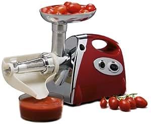 Figuine FI.MGB090 - Picador de carne y triturador de tomate (220W) [Importado de Alemania]
