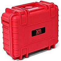 XSories Big Black Box 2.0 Shockproof Waterproof Storage Case With Customizable Foam Padding (Red)