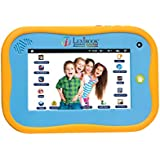 Lexibook Tablet Junior2, Android 2.0, 7 Touch screen, Internet with parental control, interactive learning content, Blue, MFC280EN_09