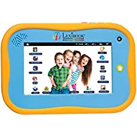 Lexibook Tablet Junior 2, Android tablet for children, 7 touch screen, WI-FI, Pack Deezer Premium, Cartoon video store, Educational tablet - MFC280EN