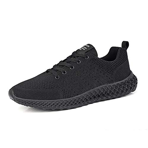 Haforever Men's Breathable Mesh Tennis Shoes Comfortable Gym Sneakers Lightweight Athletic Running Shoes