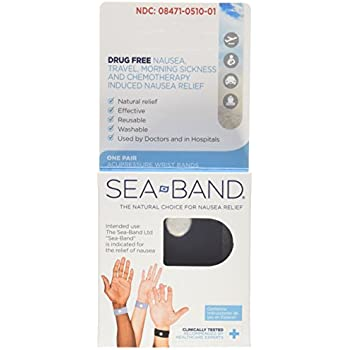 Sea-band Adult Wristband 2 Pairs