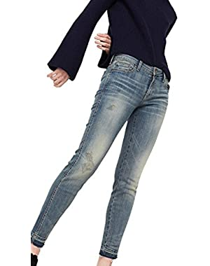 Mango Women's Skinny Push-Up Uptown Jeans