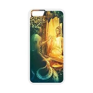 Diy Medusa Gorgons Phone Case for iphone 6 Plus (5.5 inch) White Shell Phone JFLIFE(TM) [Pattern-1] hjbrhga1544