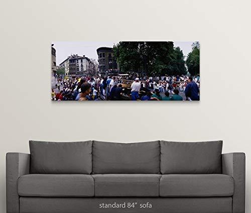 Amazon.com: GREATBIGCANVAS Gallery-Wrapped Canvas Entitled ...