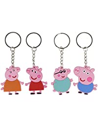 WLC keychains of pig toys,characters of pig small gift for children lovely keychain